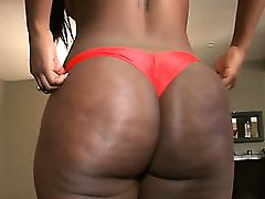 Great threesome fucking with black MILF
