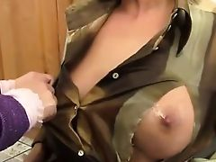 Fisted threesome lesbo rimmed