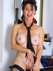 Naked mature body and old..