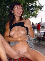 Perky slender wife nude..