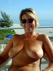 Sexy and naked moms without..