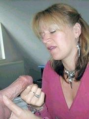 Cock-starved grandma got a..