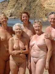 Some moms and grannies at..