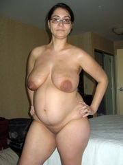 Naked moms without stockings