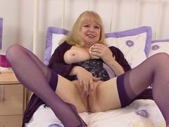 Exotic pornstar in Amazing Mature, Masturbation adult scene
