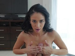 Hottest pornstar Jackie Wood in Amazing Brunette, Big Tits sex movie