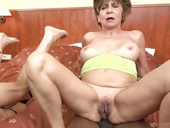 Grannies fucked in foursome