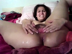 Cam - Showering and Furious Fucking