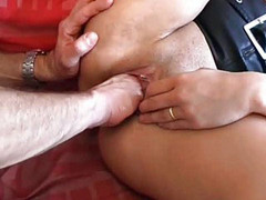 Anal loving amateur fisted