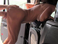 Tara in Sexy milf with big tits does anal - FakeTaxi