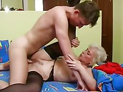 Blonde Mature With Empty Floppy Saggy Tits 2