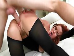 Wet sexy cunt MILF fucked by a hard dick 4