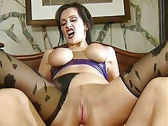 Stunning UK milf anal fuck