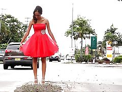 Miss Tropical Beauties Suriname 2013 Cocktail Dresses