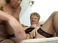 Granny and young man - 42