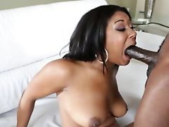 Black skank tight booty pounded