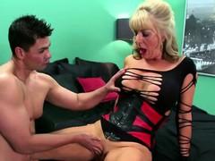 Hot mature slut desires a cock in her ass