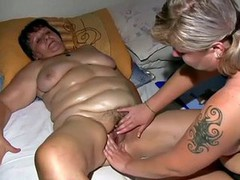OldNanny Chubby fat granny and fat mature suck dick and lick