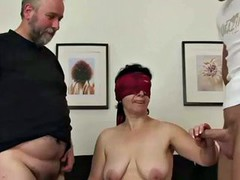Mom fucks Young and Old Boy