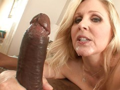 MILFGonzo Big titty Julia Ann cheats with a big black cock
